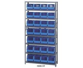 Giant Open Hopper Bin Storage System