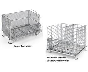 Wire Mesh Container | Worldtainer Wire Mesh Containers G I Packaging Equipment Company