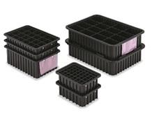 ESD-SAFE DIVIDER BOX CONTAINERS