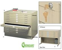 STEEL FLAT FILES - OPTIONAL ACCESSORIES